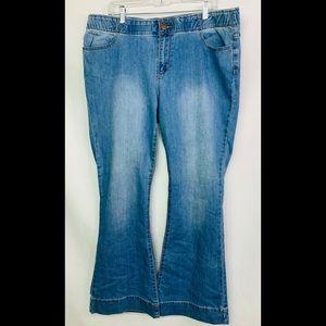 forever 21 plus flare trouser jean BNWT 16